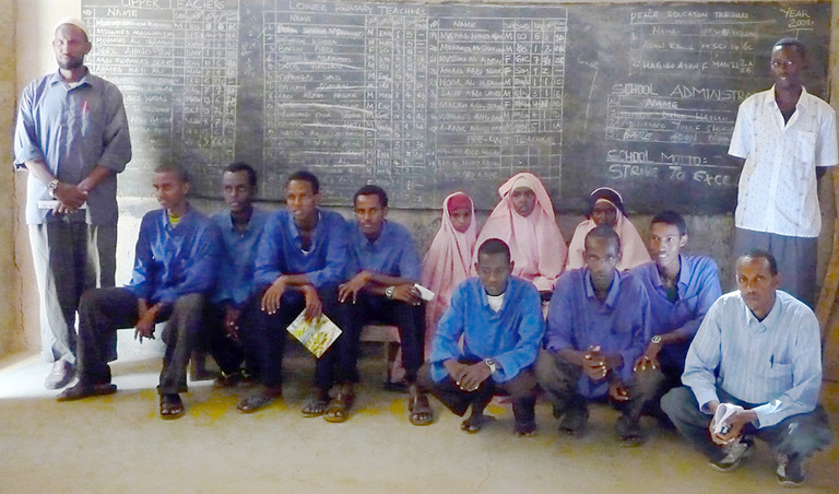 Almost 40 percent of Dadaab is of school age and of these, almost half or around 50,000 children receive no formalized education. Photo credit: Rita Irwin